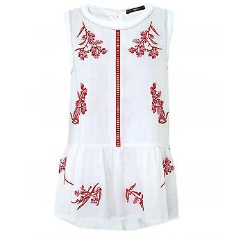 High Miracle Embroidered Top