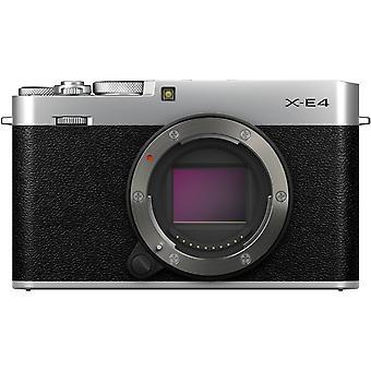 Fujifilm x-e4 appareil photo numérique sans miroir (corps seulement, argent)