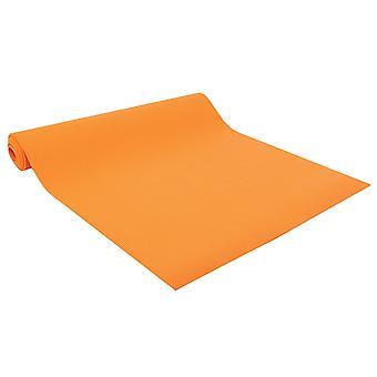 健身疯狂工作室瑜伽垫 4.5 毫米 - 橙色