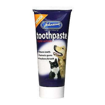 Johnson's Vet Triple Action Toothpaste for Dogs & Cats 50g