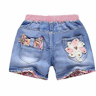 Pantaloni scurți de vară pentru copii denim, pantaloni