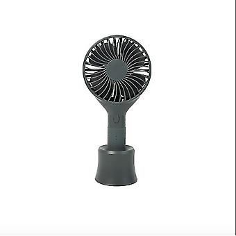 Usb Handheld Small Fan Portable Mini Electric Fan Student Dormitory Mute Charging