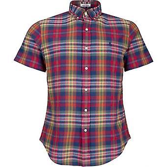 Polo Ralph Lauren Short Sleeved Multi Check Shirt