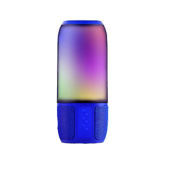 Haut-parleur Bluetooth V-tac VT-7456 avec éclairage RGB - 2x 3Watt - Bleu
