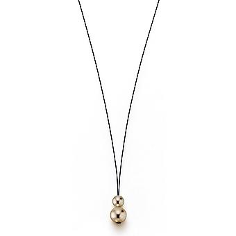 Collana adriana perla bianco acqua dolce 7-8 e 10-11 mm Corda in acciaio inossidabile 75 cm C7-T