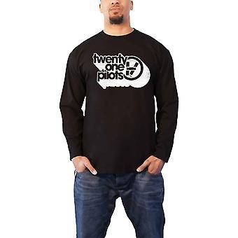 Twenty One Pilots T Shirt Vessel Vintage new Official Mens Black Long Sleeve