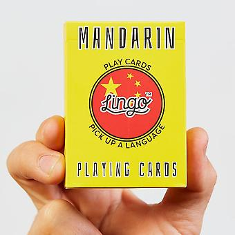 Mandarin playing cards