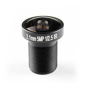 2,1mm Fisheye CCTV linssi 1/2.5