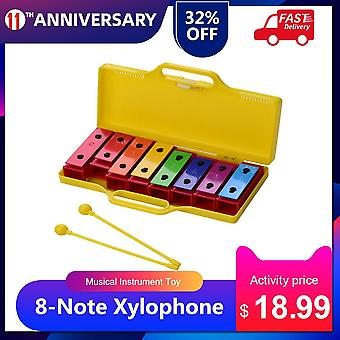 8-note Xylophone Glockenspiel Musical Instrument Toy