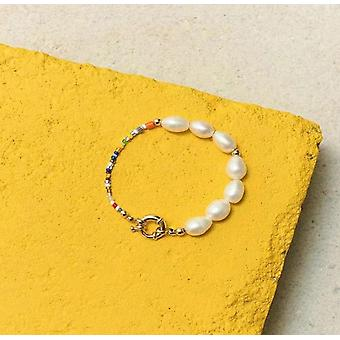 Fashion Real Pearl Jewelry Set Pearl Necklace And Bracelet Party