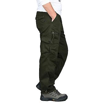 Wojskowe uniformy spodnie kombinezonowe, spodnie na co dzień proste