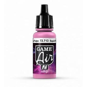 Vallejo Jeu Air 17ml Acrylique Airbrush Paint 72.713 Squid Pink
