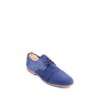 ネイビー スエード メナ™靴 |ウェッシ