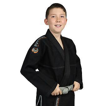 Fumetsu Kids Prime V2 BJJ Gi Black