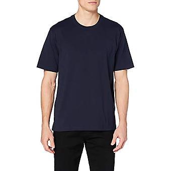 Brooks Brothers 100096893-411 T-Shirt, Blue (Navy), Large (Size Manufacturer:L) Men's