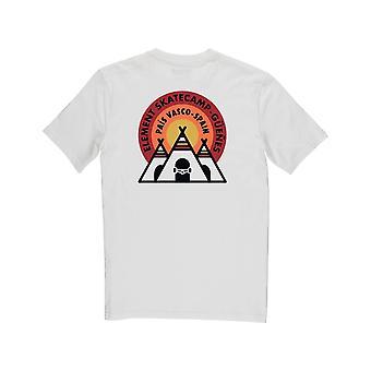 Element EA Espagne T-Shirt à manches courtes en blanc osseux