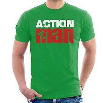 Action Man Red Logo Men's T-Shirt