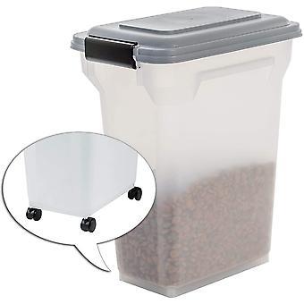 141011, luftdichte Futtertonne / Futtercontainer / Futterbehälter ATS-M, für Hundefutter,