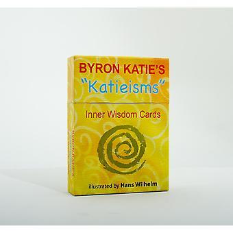 """Byron Katie ' s """"katieisms"""" innerlijke wijsheid kaarten 9780399166945"""