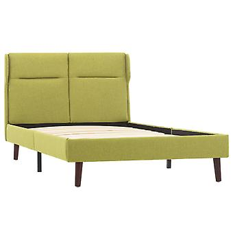vidaXL Bedframe Groene Stof 100×200 cm