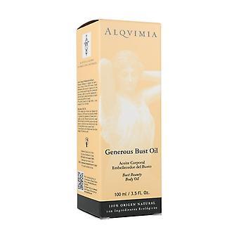 Generous Bust Body Oil 100 ml of oil