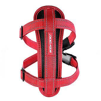 Ezydog Chest Plate Harness Red (Dogs , Collars, Leads and Harnesses , Harnesses)