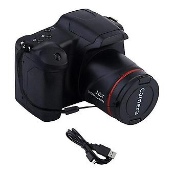 2021 أحدث ترقية المهنية كاميرا الفيديو HD 1080p كاميرا رقمية محمولة 16x دعم التكبير الرقمي بطاقة SD 9.88mm لين