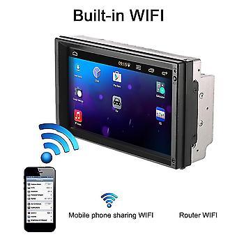 K5058 7 Inch Large Display Hd Screen Car Dvd Machine Gps Multimedia Player Set