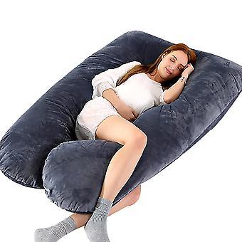 U شكل الحمل جانب النوم الفراش وسادة الدعم