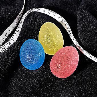 3szt Hand Finger Grip Wzmocnienie odporność Ćwiczenia Squeeze Therapy Egg Balls