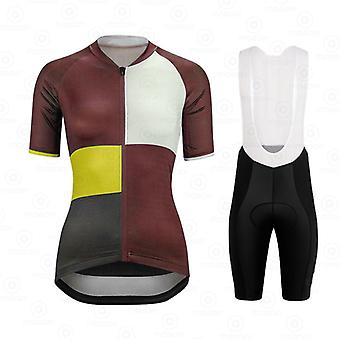 Woman Cycling Jerseys Summer Breathable Bike Jersey Short Sleeves