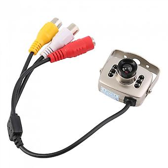 Ir Wired Cctv Mini Camera Security Color Night Vision Infrared Video Recorder