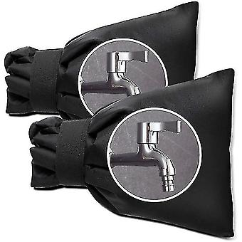 Outdoor Faucet Covers For Winter, Cover For Outdoor Garden Hose Tap, 2 Pack(Black)