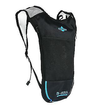 6L outdoor sports water bag, waterproof and breathable backpack for running camping riding(Blue)