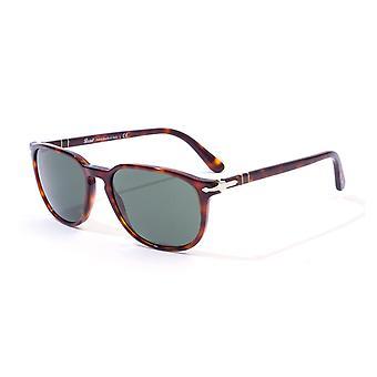 Persol Green Crystal Lens Havana Sunglasses