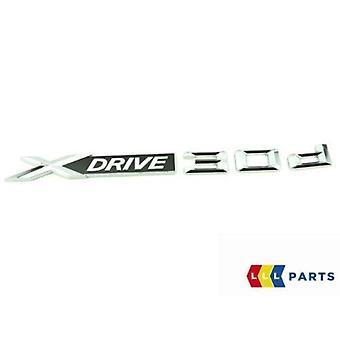 BMW GENUINE X5 X4 X3 XDRIVE 30 D SERIES ÉTIQUETTE AUTOCOLLANT BADGE EMBLÈME 7362491