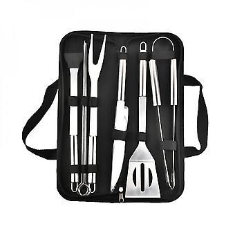 Portable Outdoor Household Grill Barbecue Tool Set Stainless Steel Bbq Barbecue Tools Portable Grill