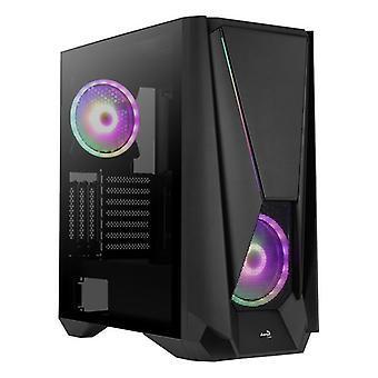 ATX Semi-torn Box Mars Gaming VISORBK LED RGB