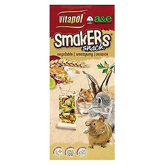 A&E Cage Company Smakers Vegetable Sticks for Small Animals - 2 count