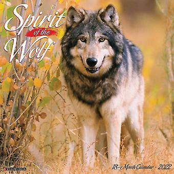 Spirit of the Wolf 2022 Wall Calendar Wolves by Willow Creek Press