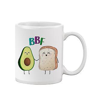 Toast And Avocado Bbf Mug -SPIdeals Designs