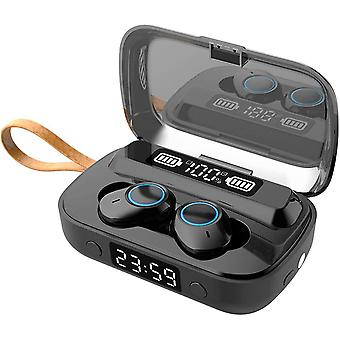 Venalisa Wireless Bluetooth Earphone Bluetooth 5.1 Sport Touchscreen Headset With Built-in Mic Hifi Stereo Battery Life 100h Battery Indicator Digital