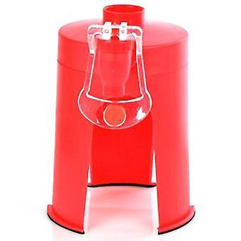 Plastique mini main pression type fontaine inversée fontaine de coke bouteille pompe à eau eau potable