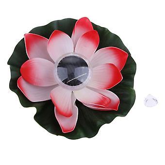 Led drijvende led verlichtingchinese lantaarn zonne-licht Lotus wens drijvende water lamp