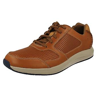 Mens Clarks Casual Skor Sirtis Mix