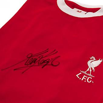 Keegan Liverpool assinado camisa