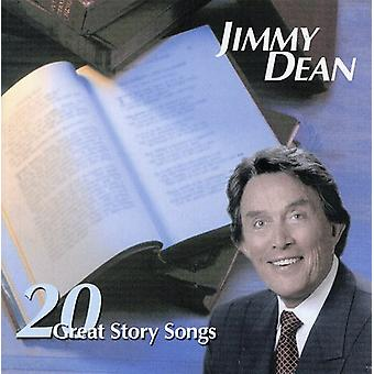 Jimmy Dean - 20 Great Story Songs [CD] USA import