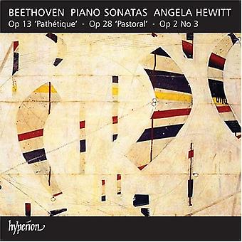 L.V. Beethoven - Beethoven : Piano sonates opus 2/3, opus 13 et opus 28 [CD] USA import