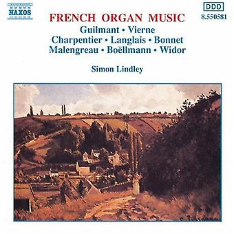 Simon Lindley - French Organ Music [CD] USA import
