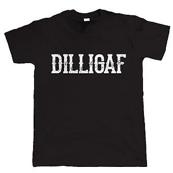 DILLIGAF, Mens Biker T Shirt